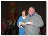 01 Gerard Fallon and Angela Greer bring forward symbols of the Cathedral Circle at  the Vigil Mass on 14 April, 2012
