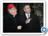 02 Bishop Colm talks to Catholic Communications Office Director Martin Long