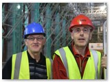 04 Cathedral caretaker Ben Courtney and sacristan Gerry Reilly
