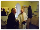 05 Fr Jimmy welcomes Bishop Colm