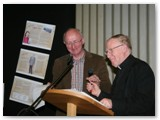 06 Bishop Colm and Pat Chapman at the podium