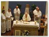 08 Fr Jimmy and concelebrants at his Jubilee Mass