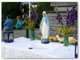 11 Corpus Christi 2012 altar in the Cathedral Car Park