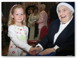 11 Sr. Rosario Deery 102 years old with a young friend