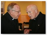 12 Bishop Colm and Fr Jimmy in conversation