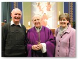 13 Liz and Michael McGuckian with Bishop Colm