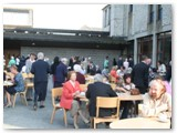23 Al fresco dining afterwards at St Mel's College